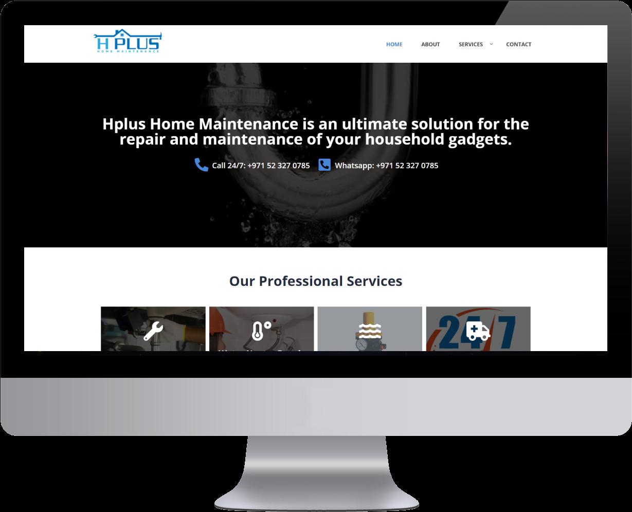 Portfolio- H plus Maintenance